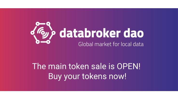 Venta de Tokens de Data Broker Dao, Mercado de Datos de Sensores, está en curso
