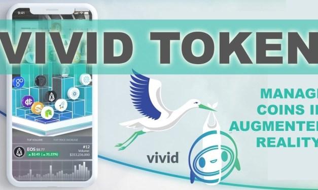 Vivid anuncia el inicio de la venta pública de tokens para el 8 de junio