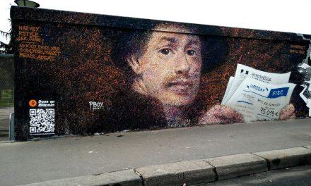 """Grafitero parisino PBOY: """"en pocos años será automático apoyar a su artista local con criptomonedas"""""""