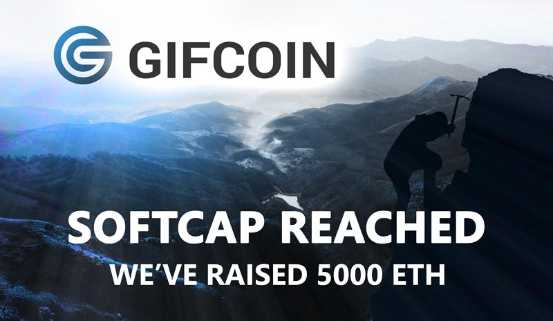 Plataforma de apuestas GIFcoin alcanzó exitosamente la meta mínima de su ICO