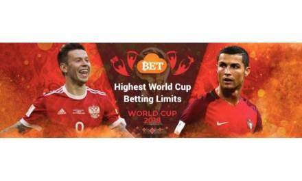 Cloudbet, el gigante de apuestas Bitcoin, ofrece los límites de apuestas más altos para la Copa Mundial 2018