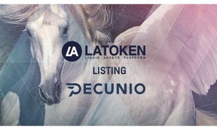 Pecunio, la empresa blockchain más exitosa de Dubai, cotiza en LATOKEN