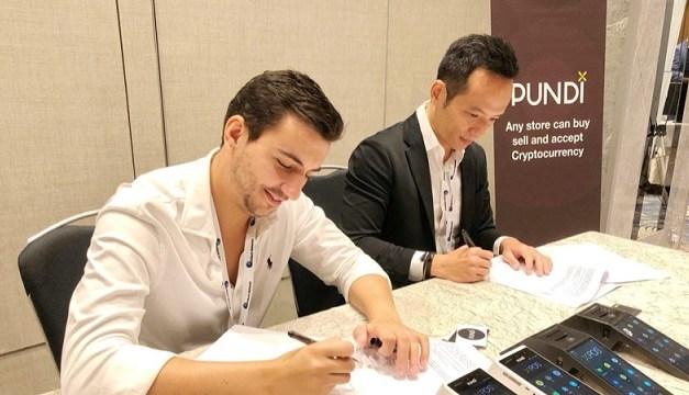 UTRUST, la plataforma líder mundial de pago con criptomonedas, une fuerzas con Pundi X en Singapur