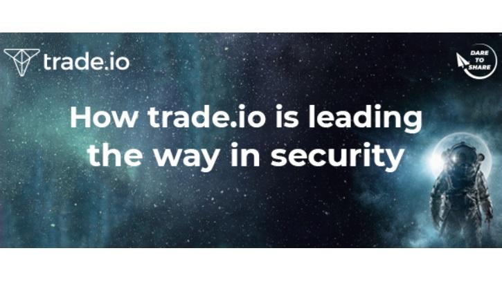 trade.io lidera prácticas y sistemas de seguridad de alto nivel para su próxima casa de bolsa de criptomonedas