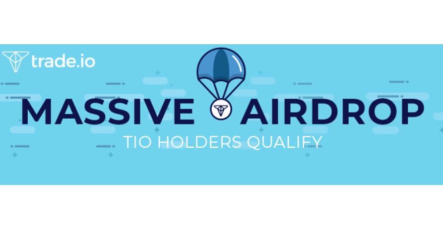 trade.io anuncia próxima campaña de entrega aérea de Cripto a tenedores del token Trade (TIO)
