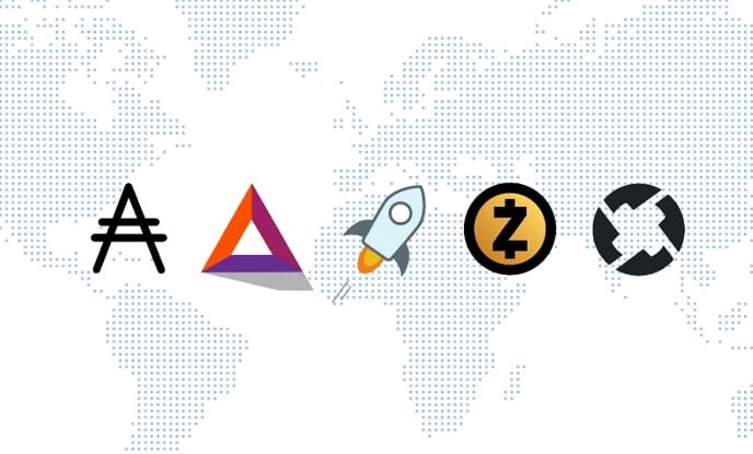 Zcash, Cardano, Stellar, BAT y 0x aumentan más de 10% ante posible inclusión en Coinbase