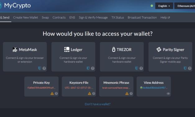 Plataforma MyCrypto lanza su nueva aplicación de escritorio