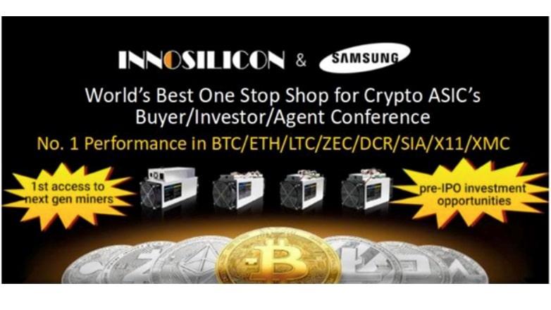 Innosilicon, debutará con revolucionaria tecnología de minería en North American Roadshow