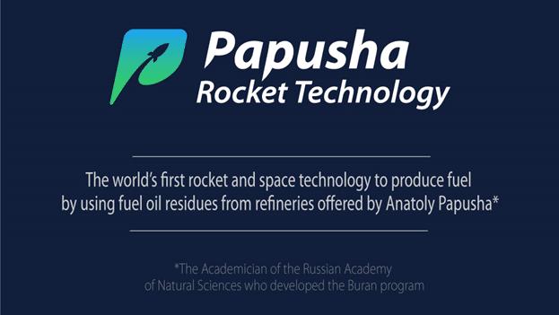 Papusha Rocket Technology: ¡la primera ICO del mundo para limpiar el medio ambiente!