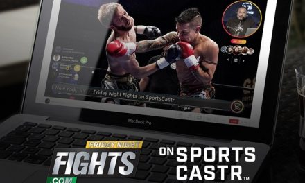 SportsCastr se expande a MMA con exclusiva oferta de Streaming de Friday Night Fights