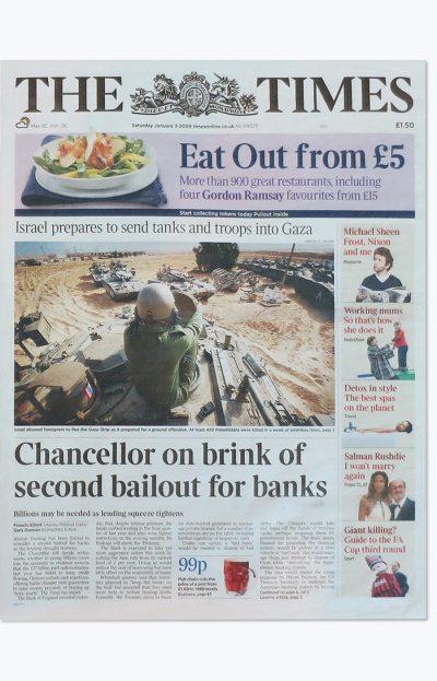 Gobierno Ingles Rescate Bancos Bitcoin