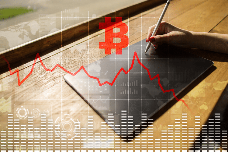 Mercado de criptoactivos perdió más de $17 mil millones en 8 horas