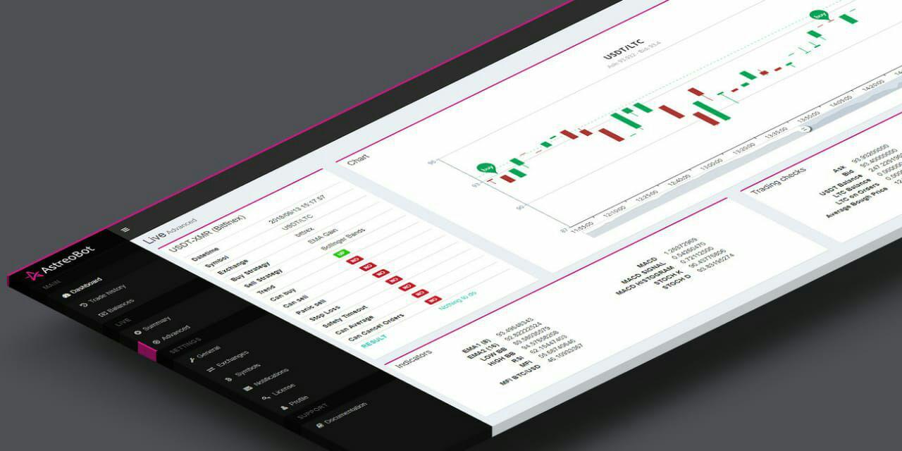 Astreobot, el bot de trading de criptomonedas con asistencia en español