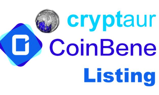 Cryptaur cotizará en CoinBene, una de las criptobolsas más grandes de Asia