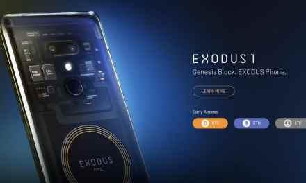 Precio del teléfono Exodus1 de HTC está fijado en criptomonedas