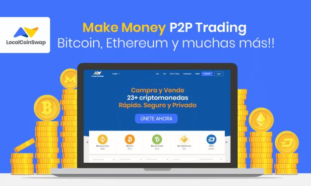 LocalCoinSwap: primer cripto exchange P2P global que devuelve las ganancias a su comunidad