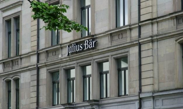 Banco suizo Julius Baer ofrecerá servicios relacionados con criptomonedas
