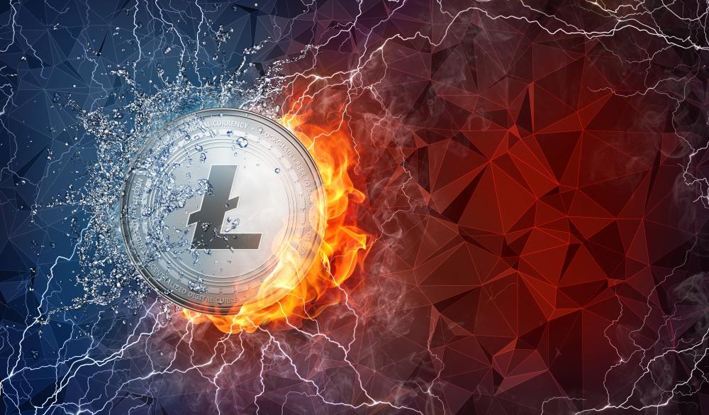 Litecoin aumenta más de 18% tras superar los mil canales de Lightning Network