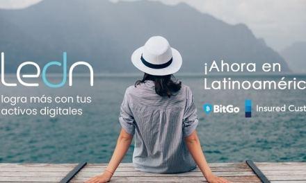 Ledn resguardará criptoactivos en BitGo y apunta al ahorro con Bitcoin en Latinoamérica