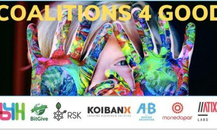 Coalitions 4 Good: un evento para celebrar el lado más humano de blockchain