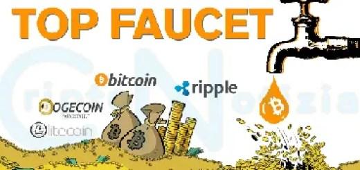Lista Faucet Paganti 2020 Bitcoin, Litecoin, Ethereum... 8 top faucet banner