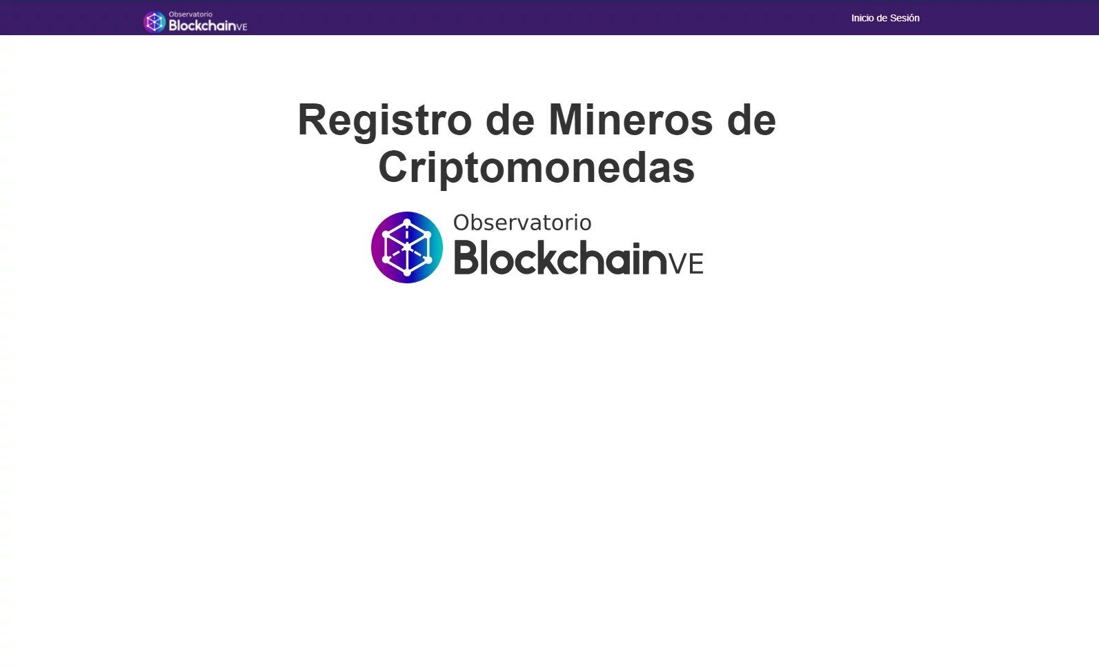 Venezuela lanza página web para el registro de mineros criptoactivos