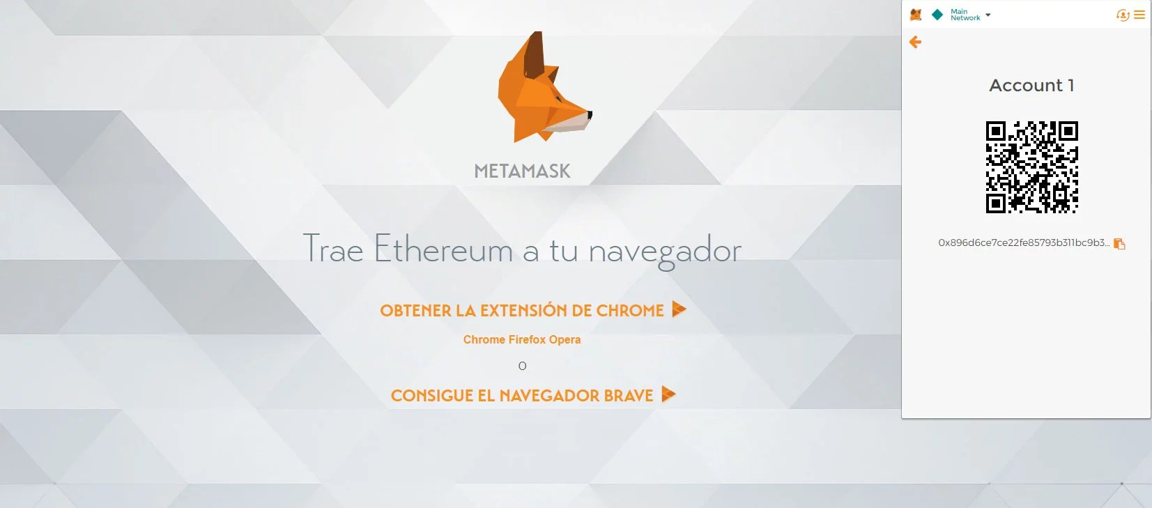 QR de metamask