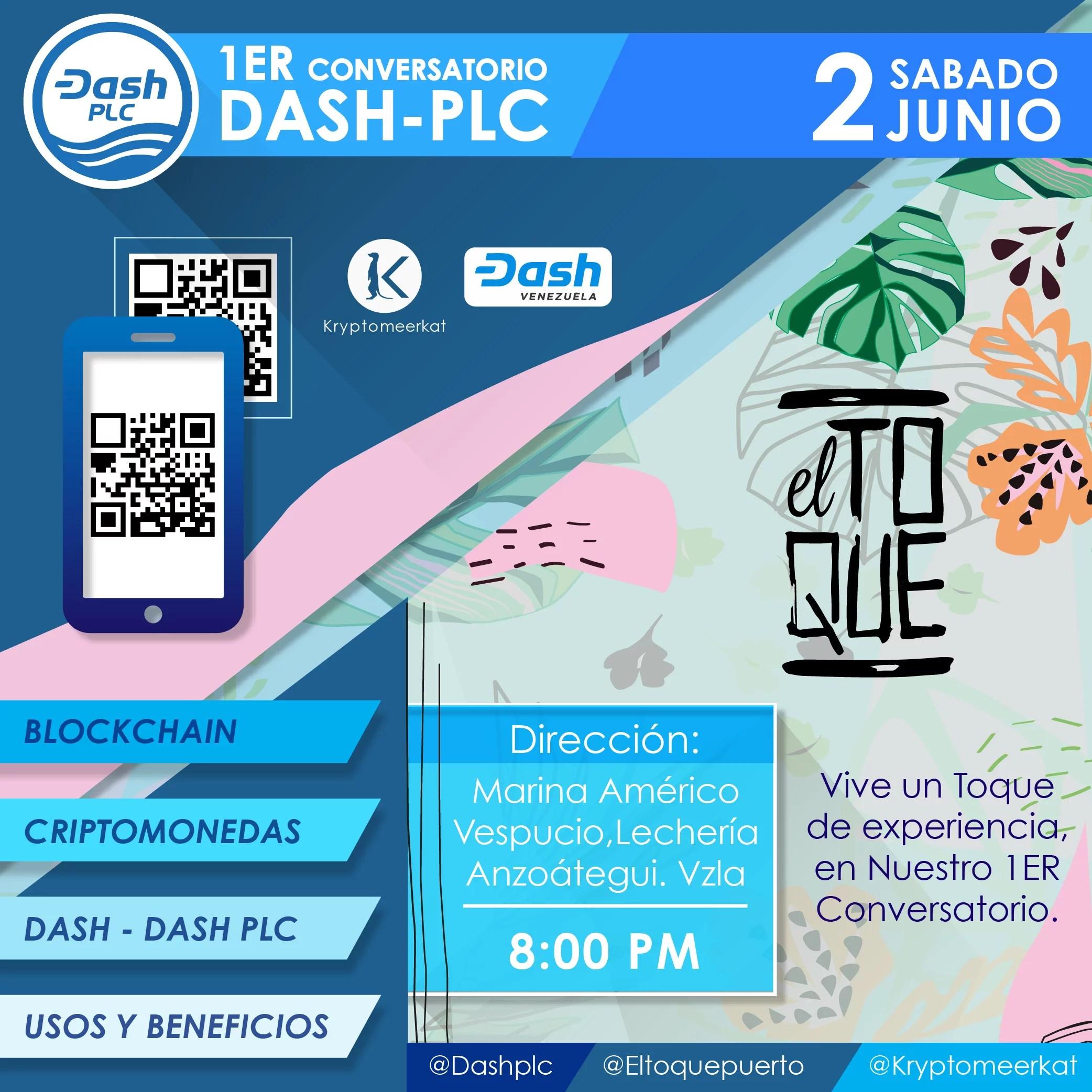 Dash PLC comienza el mes de junio con su 1er conversatorio