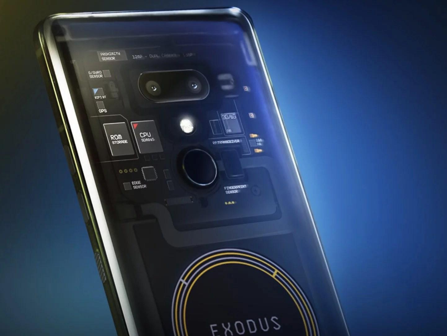 Exodus, el nuevo teléfono blockchain de HTC, está disponible para pago únicamente en Bitcoin y Ethereum