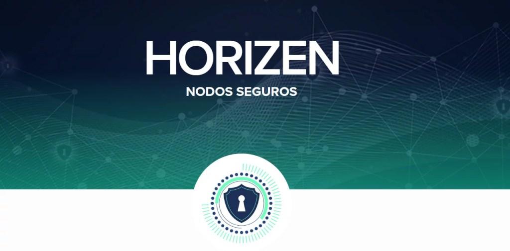 Nodos seguros de Horizen