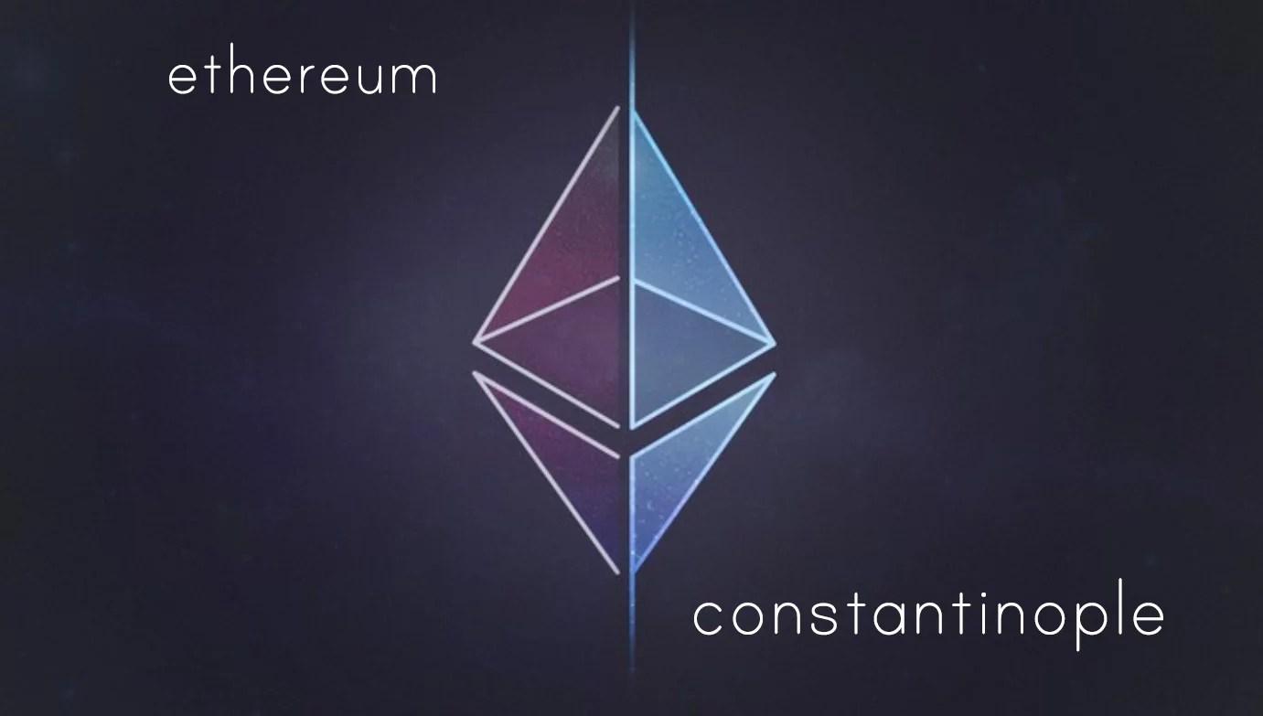 Ethereum Constantinople Hard Fork