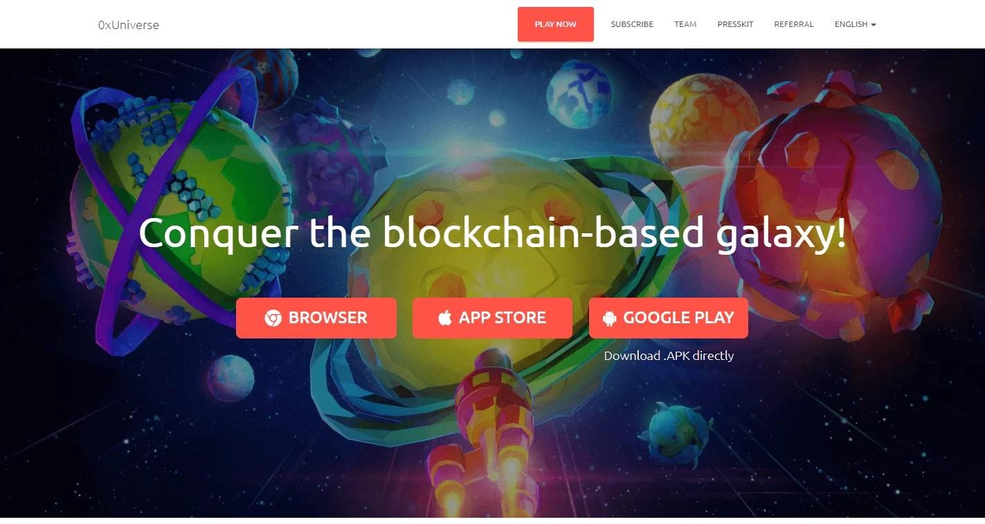 Portal web OxUniverse