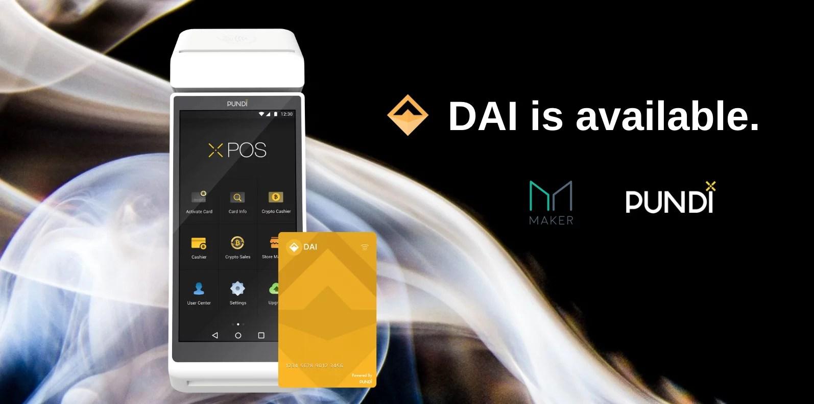 PundiX agrega DAI en su plataforma