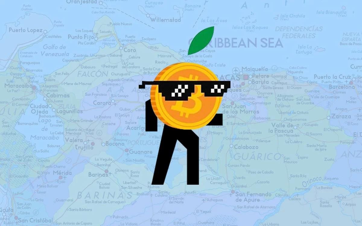 Satoshi en Venezuela se mueve al interior del país....