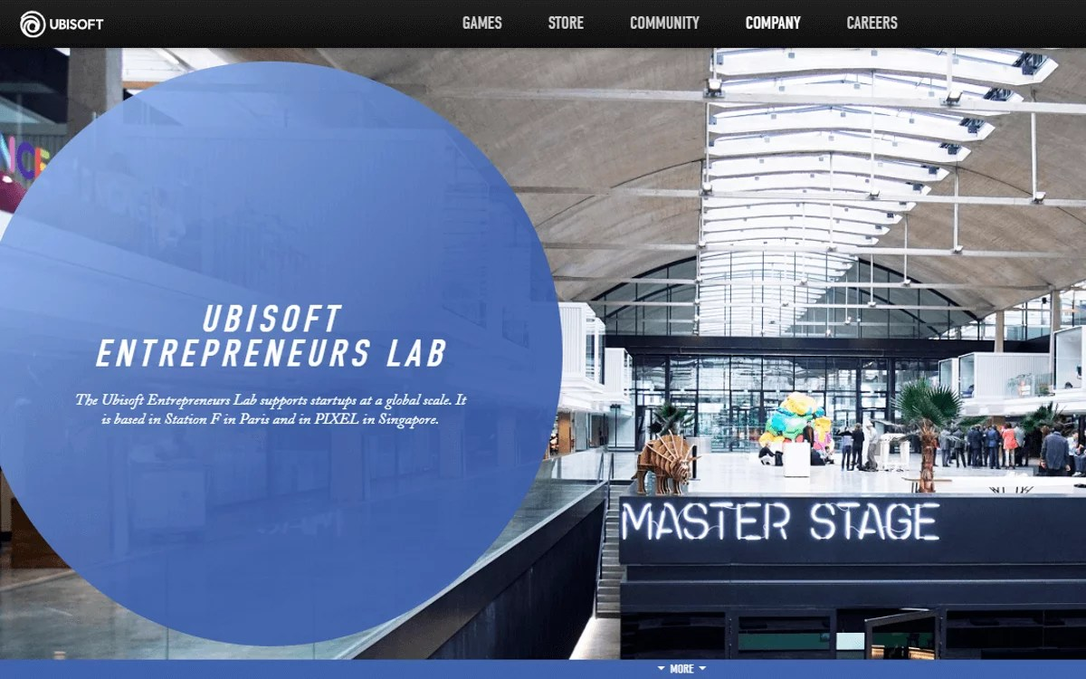 Programa de Ubisoft Entrepreneurs Lab