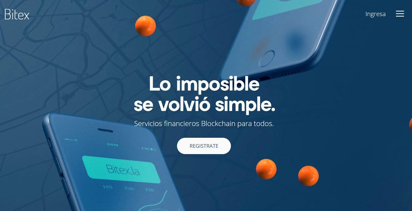 BITEX para comprar BTC con pesos argentinos