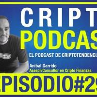 Episodio 29: Entrevista al asesor y consultor en cripto finanzas Anibal Garrido conversando sobre trading con criptomonedas ¿Dinero fácil?