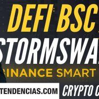 Conoce StormSwap, el nuevo protocolo DeFi en la Binance Smart Chain - Crypto Con Café