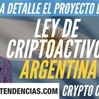 Proyecto de Ley Regulación Criptoactivos Argentina - Crypto Con Café