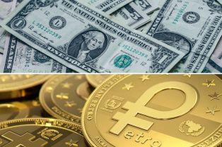 Funcionario de Maduro asegura que para desvincular el dólar estadounidense de la economía en Venezuela es necesario el fortalecimiento del Petro
