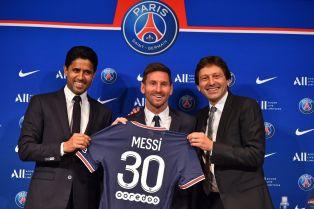 Como parte de su fichaje por el Paris Saint-Germain, el futbolista argentino Lionel Messi recibió tokens para fanáticos del equipo francés