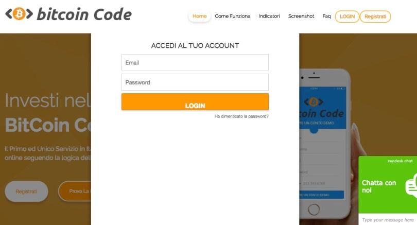 Bitcoin Code Login