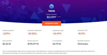 Comprare Tron come e perché farlo
