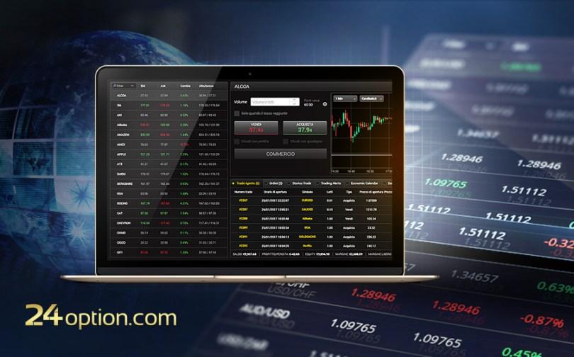 24Option Piattaforma di Trading