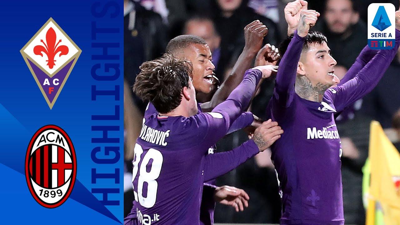 La Fiorentina ferma la corsa del Milan verso la Zona Europa