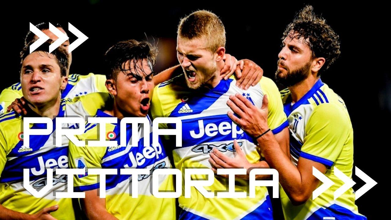 Spezia Juventus Prima vittoria