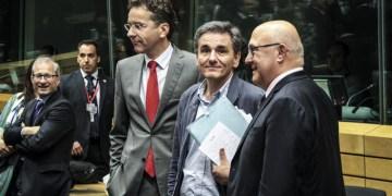 Emergency meeting of European finance ministers in Brussels, Belgium, on July 7, 2015 / Έκτατκτο Γιούρογρουπ στις Βρυξέλλες, στις 7 Ιουλίου, 2015