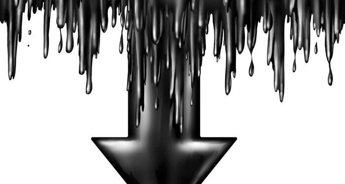 πετρέλαιο πτώση