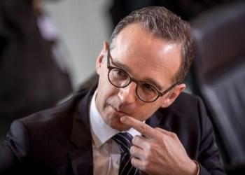 Ο υπουργός Εξωτερικών της Γερμανίας,, Σοσιαλδημοκράτης, Χάικο Μάας