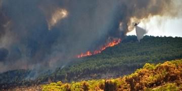 Μεγάλη φωτιά στις Σάπες Ροδόπης.-Εκκενώθηκε οικισμός(upd) 1